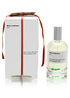 Miller et Bertaux #3 Green green green and green edp 100 ml.