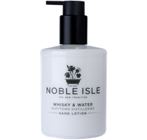 Noble Isle WHISKY WATER hand lotion