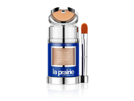 La Prairie skin caviar concealer foundation honey beige