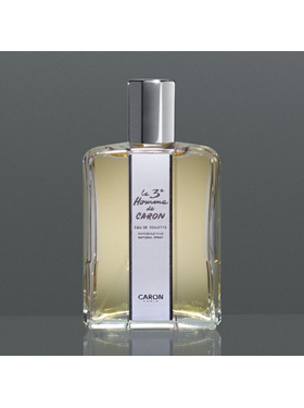 caron parfums 3eme homme edt 125 ml