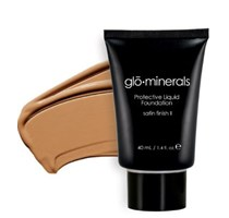 glo minerals protective liquid foundation beige